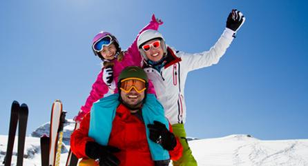 Ski in den Dolomiten