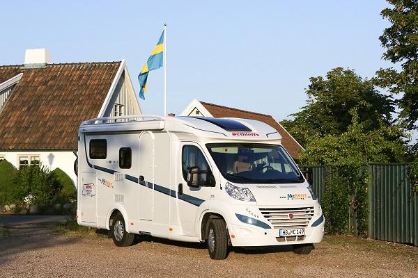Mit dem Wohnmobil durch Schweden