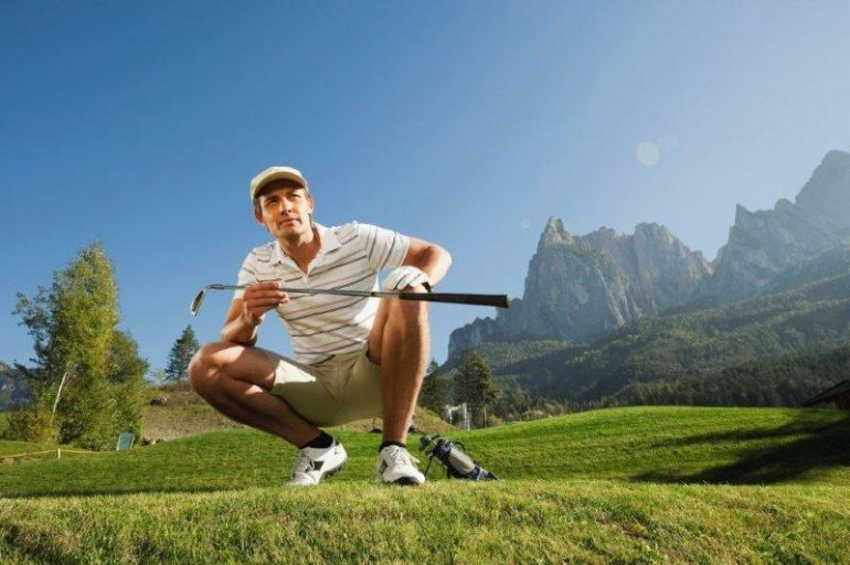 Golfen mit dem Wohnmobil