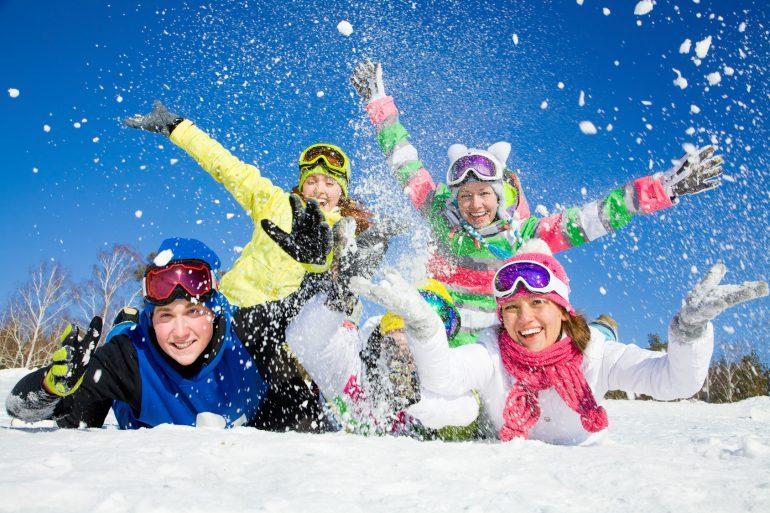 Schneeflocken im Trentino